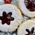 Shortbread Cookies with Jam (Sables) from Algeria