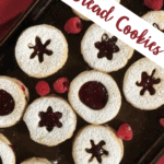 Short Bread Cookies with Jam Pinterest Image