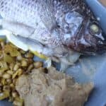 Angolan Tilapia and funje