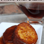 French Toast Dessert Pinterest Image Top Clear Banner