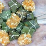 Duncana (Antiguan Sweet Potato Dumplings): Ginormous Banana Leaves
