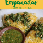 Beef Empanada Pinterest Image