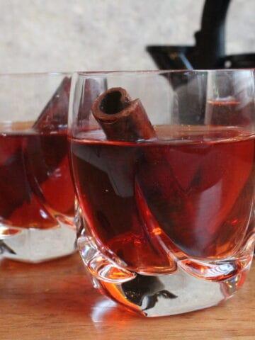 3 cups of Armenian Cinnamon Tea