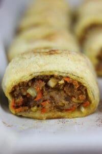Single view of Australian Sausage Roll Recipe