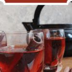 Cinnamon Tea From Armenia Top Red Banner