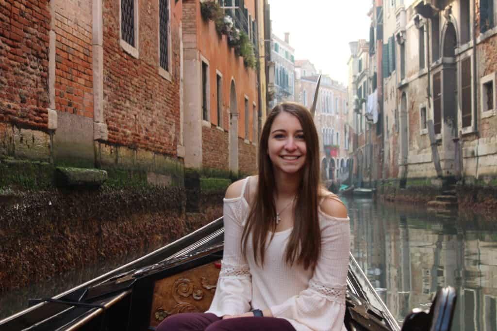Gondola Ride in Canals of Venice
