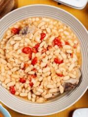 Pasta with Fagioli bowl