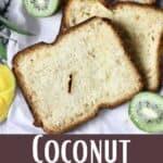 New Coconut Bread Pinterest Image bottom design banner