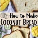 New Coconut Bread Pinterest Image middle design banner