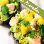 Tropical Stuffed Avocados From Barbados Pinterest Image