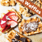 Liege Waffles Pinterest Image