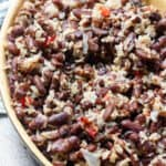 Coconut Milk Rice with Red Beans from Belize