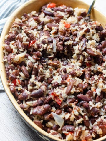 Red Beans and Coconut Rice from Belize