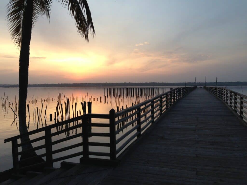 Dock In Benin