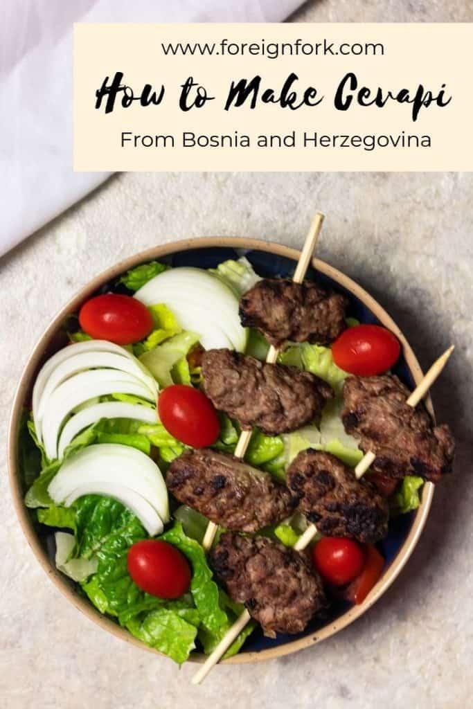 How to Make Cevapi from Bosnia
