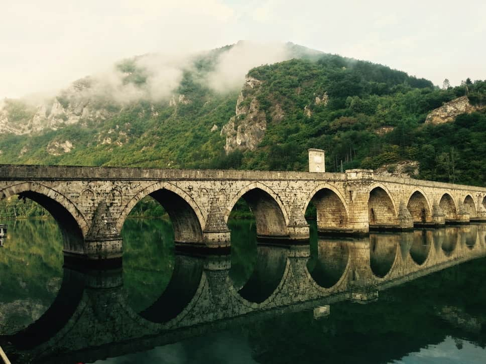 Concrete Bridge in Bosnia and Herzegovina