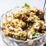 Quinoa Salad with Sun Dried Tomatoes & Feta Cheese