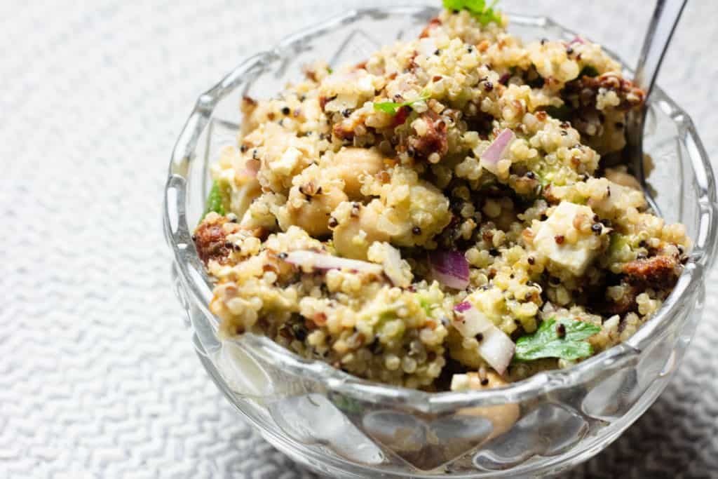 Quinoa Salad from Bolivia