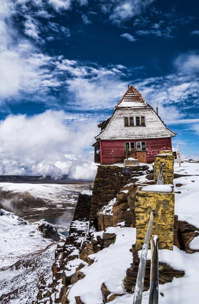Old Ski Resort In Bolivia