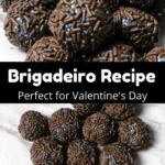Valentine's Day Fudge Balls Pinterest Image Middle Black Banner
