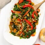 Sautéed Spinach from Botswana