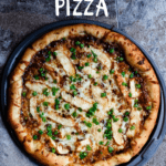 Honey BBQ Chicken Pizza Pinterest Image