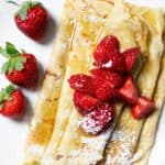 Palachinki (Honey Butter Filled Crepes) from Bulgaria