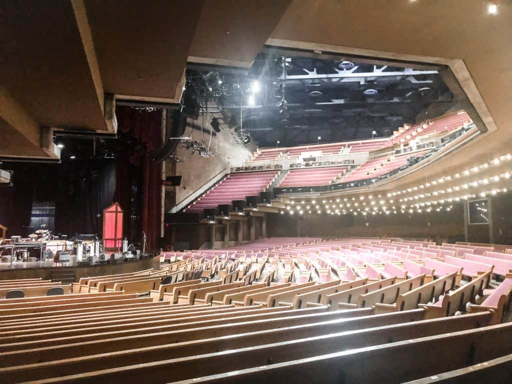 Grand Ole Opry seating