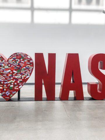 I love Nash sign