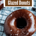 Chocolate Glazed Donuts Pinterest Image