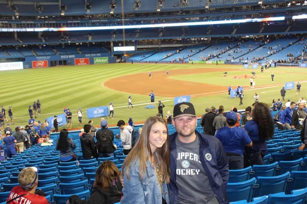 Blue Jays game in Toronto!