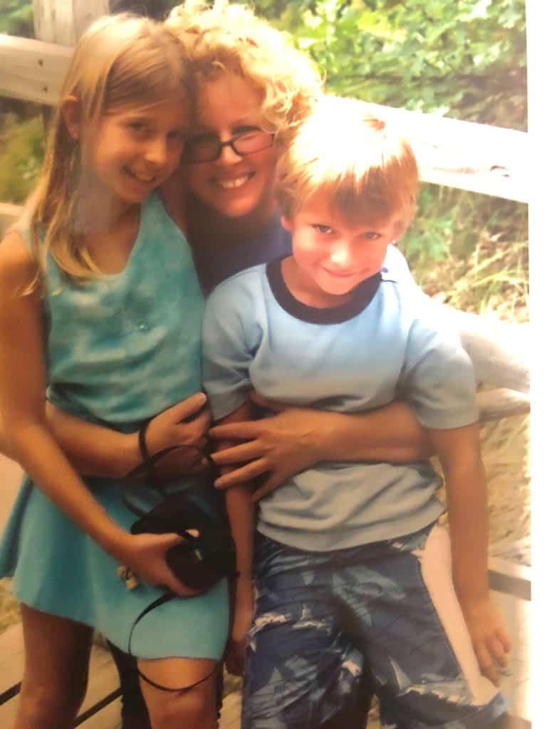 Aunt Lori with Brandon and Alexandria