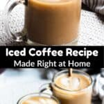 Iced Coffee Pinterest Image middle black banner