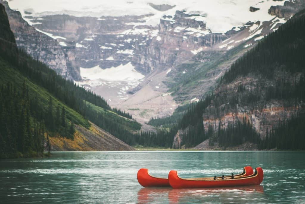 beautiful canadian lake