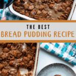 Bread Pudding Pinterest Image