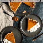 Dulce de Leche Pumpkin Pie Filling Pinterest Image Top Banner