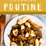 How To Make Canadian Poutine Pinterest Image Top Banner