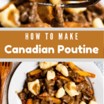 How To Make Canadian Poutine Pinterest Image Middle banner