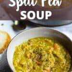 new Instant Pot Split Pea Soup Pinterest Image top design banner