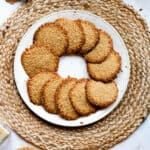 Benne Wafers Recipe (Sesame Seed Cookies)