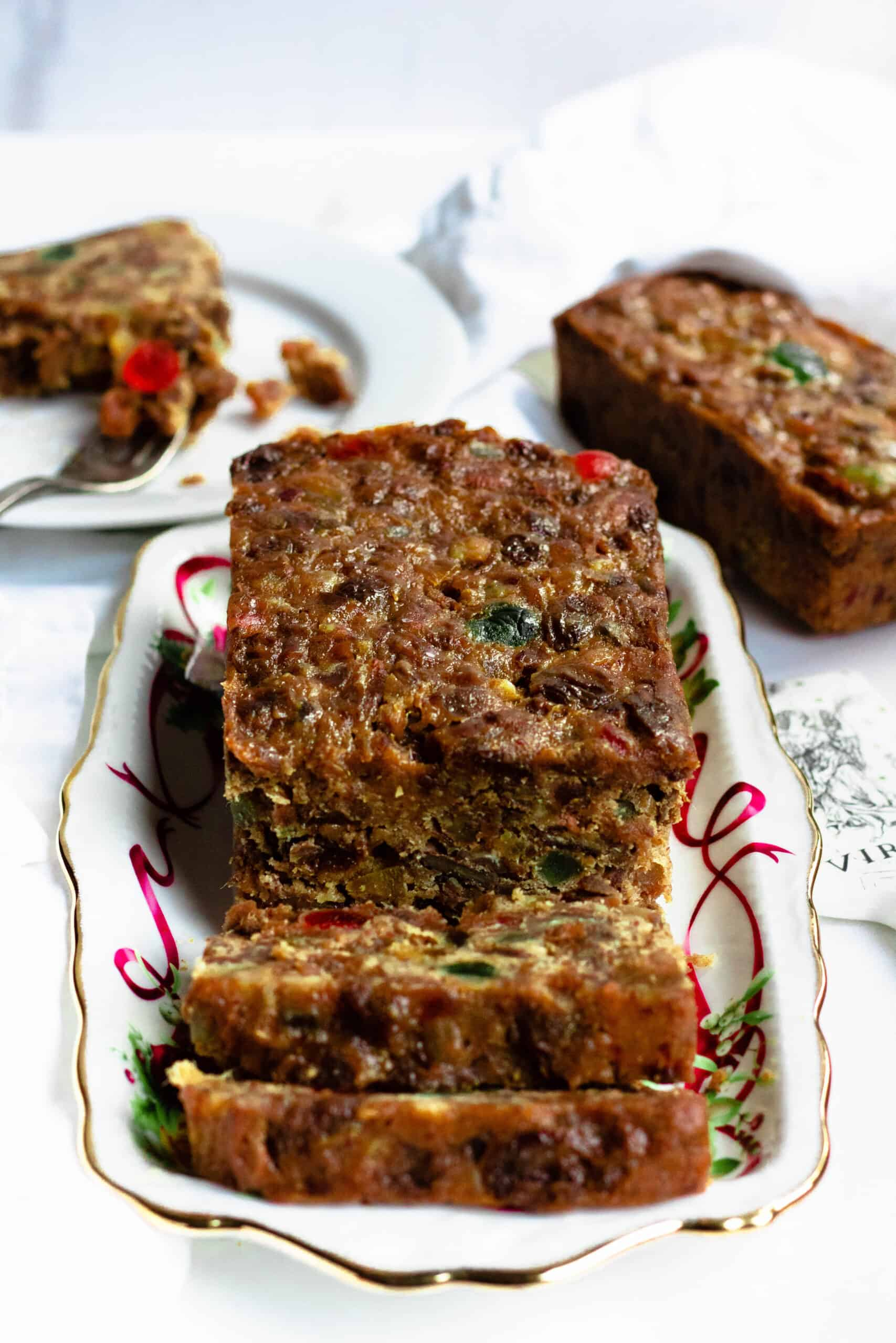 Christmas Fruit Cake Recipe The Foreign Fork
