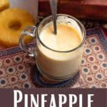 Pineapple Mango Smoothie Pinterest Image bottom design banner
