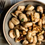 Brown Butter Gnocchi with Sage and Walnuts