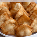 Cream Cheese Wontons Pinterest Image Top Clear Banner