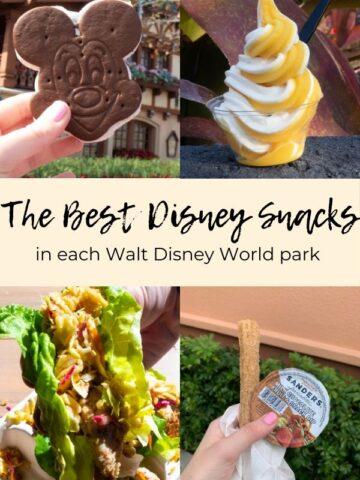 Disney snacks pinterest