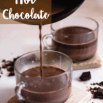 Columbian Hot Chocolate Pinterest Image Top Left banner