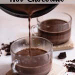 Columbian Hot Chocolate Pinterest Image Top Clear banner