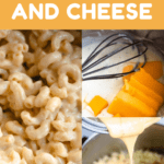 Macaroni and Cheese Recipe Pinterest Image