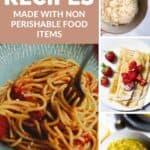 Non-Perishable ingredients pinterest image