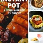 Europea Inspired Instant Pot Pinterest Graphic